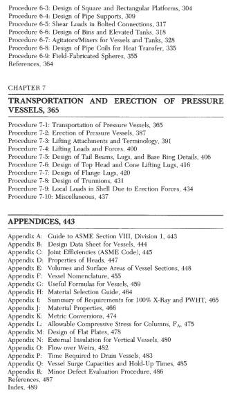 pressure vessel design manual pdf